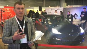Первая в Украине Tesla Model 3