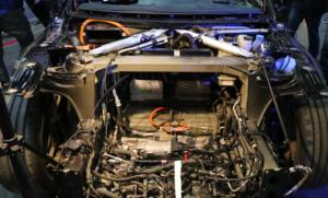 Tesla Model S на выставке Plug-In Ukraine