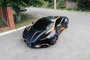 В Киеве показан электромобиль Hymera-Q