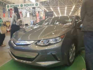Chevrolet Volt на выставке EcoDrive 2018