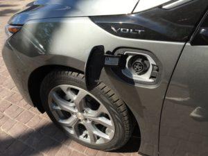 Разъем зарядки Chevrolet Volt